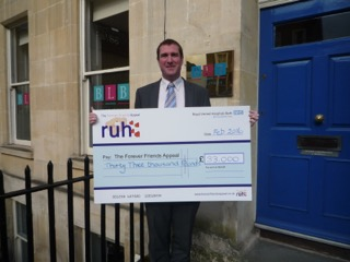 RUH's Wills month – £33,000 raised for the Forever Friends Appeal