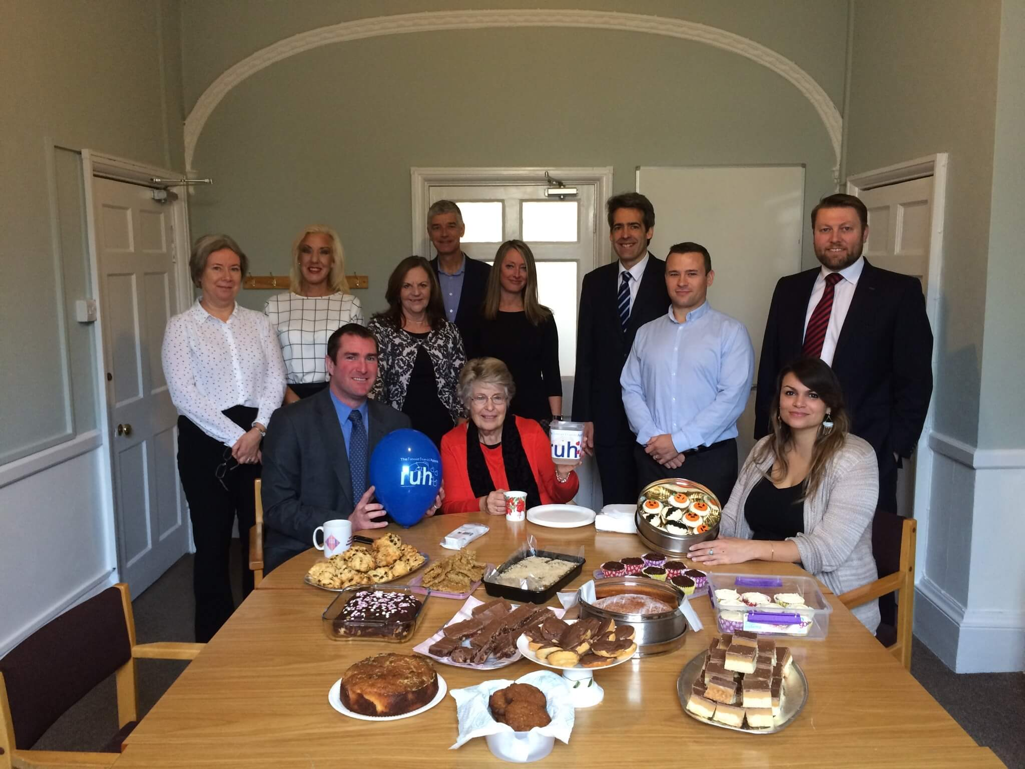 BLB's Bath office takes part in Ted's Big Bake Off