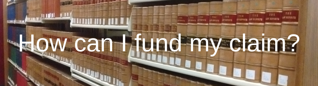 How can I fund my claim