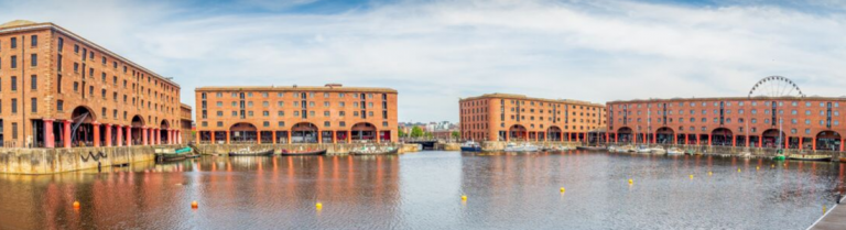 Commercial Property around a dock