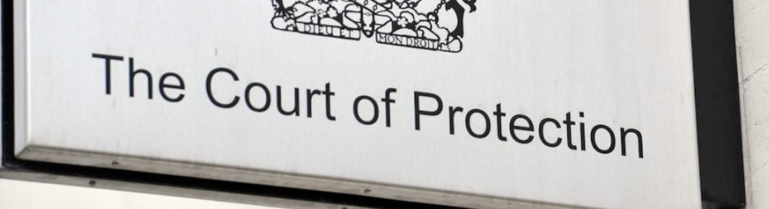 Court of Protection sign