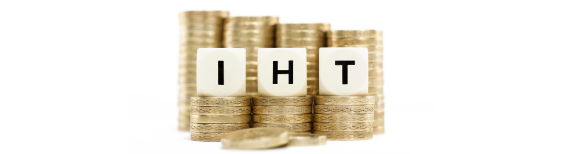 Letters IHT perched on coins